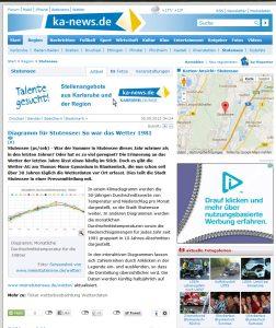 ka-news: Wetter