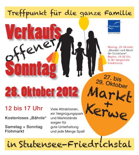 Markt und Kerwe Friedrichstal