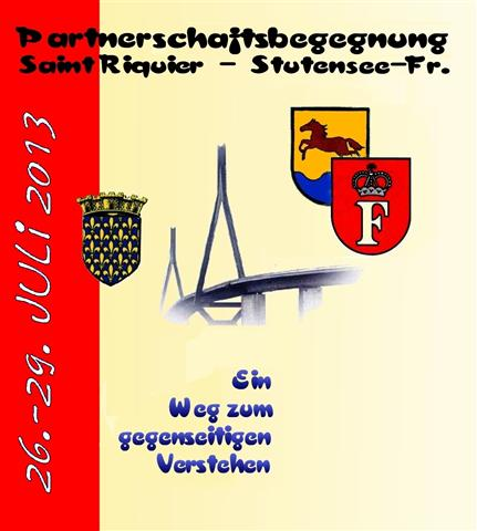 Partnerschaftsbegegnung Saint Riquier 2013