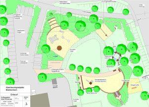 Entwurf Abenteuerspielplatz Blankenloch