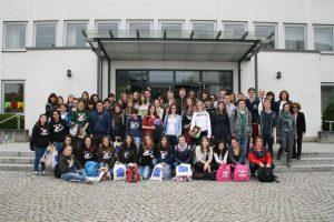 Italienische Austauschschüler