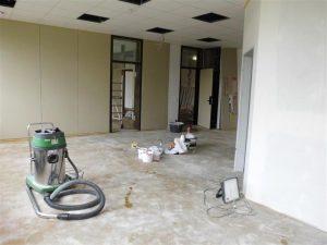 Die neuen Räume der Kleinkindgruppe im ehemaligen Lehrerzimmer der Schule