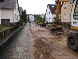Baustelle Lessingstraße