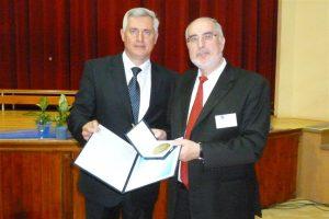 Bürgermeister Zoltán Sümegi mit Oberbürgermeister Klaus Demal