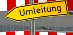 Straßensperrungen in Schöneichenjagen und Eichendorffstraße