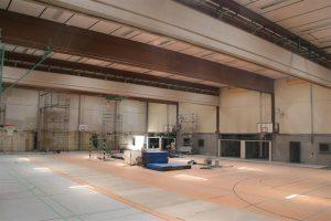 Sanierung Sporthalle I