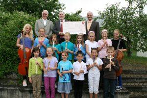 Spende Musikschule Hardt