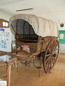 Planwagen im Hugenottenmuseum