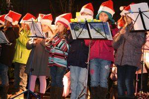 Weihnachtsmarkt Flötenkinder