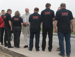 CDU-Team mit Bürgermeister Dr. Ehrlein