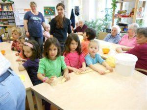 Kindergarten Sonnenschein besuchte Haus Edelberg