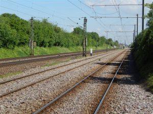 Bahnstrecke Karlsruhe - Mannheim