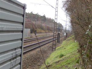 Standort des neuen Haltepunkts Friedrichstal