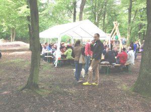 Übergabe Waldspielplatz Spöck