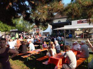 Marktplatzfest Besucher
