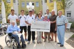 Haus Edelberg spendet an FC Germania