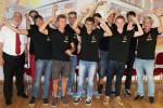 Indiaca-Junioren-Mannschaft der TSG Blankenloch Weltmeister