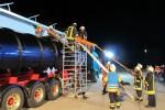 Abwechslungsreiche Übung mit Tanklastzug