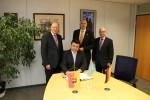 Botschafter der Republik Kasachstan zu Gast
