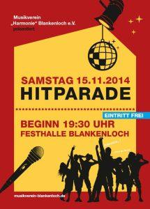 Hitparade Musikverein Blankenloch 2014