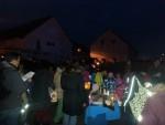 Feuerwehr begleitete Sankt-Martins-Umzüge in Friedrichstal