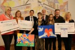 Preisverleihung Friedensplakatwettbewerb