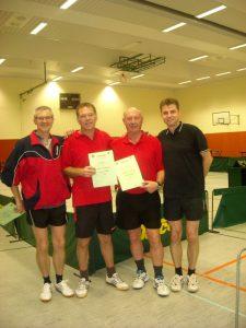 Martin Essig, Frank Schäfer, Mathias Peidelstein, Dirk Soldinger (vlnr)