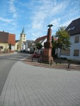 Kirchstraße in Spöck während Reitturnier gesperrt