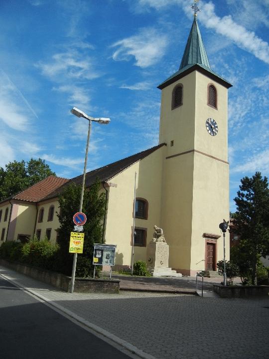 Ev. Kirche Spöck