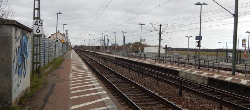 Bisheriger Bahnhof Friedrichstal