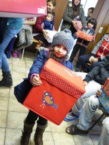 Geschenke für Asylbewerber-Kinder