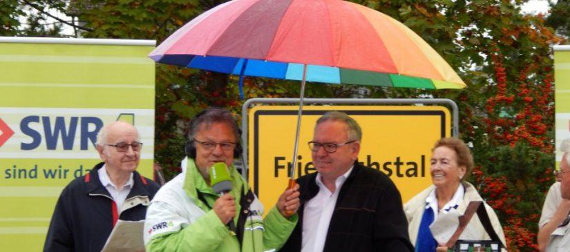 Kurt Gorenflo mit Moderator Winfried Bartsch