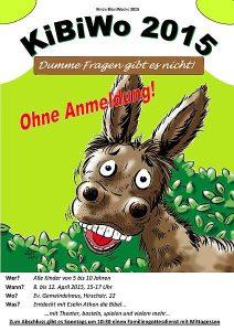 Kinderbibelwoche Friedrichstal