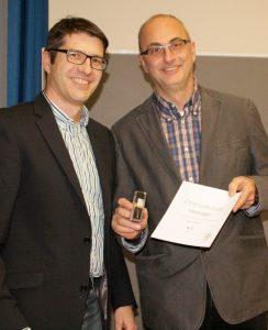 Links Lutz Schönthal, rechts Klaus Hofmann