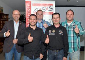 ASS mit neuen Mitgliedern