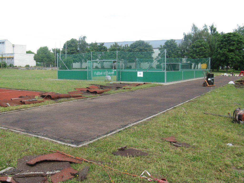 Sportbahnerneuerung Friedrichstal