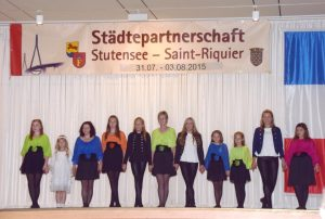 Irish-Dance-Gruppe