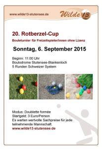 20. Rotberzel-Cup