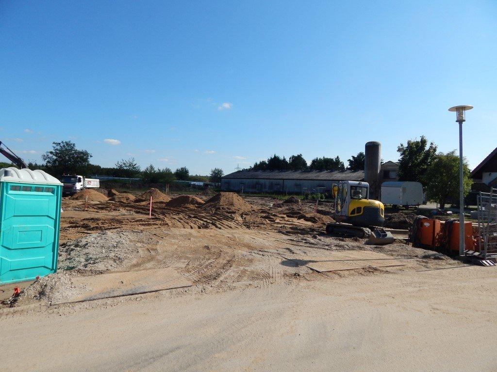 Baubeginn Flüchtlingsunterbringung Seegrabenweg