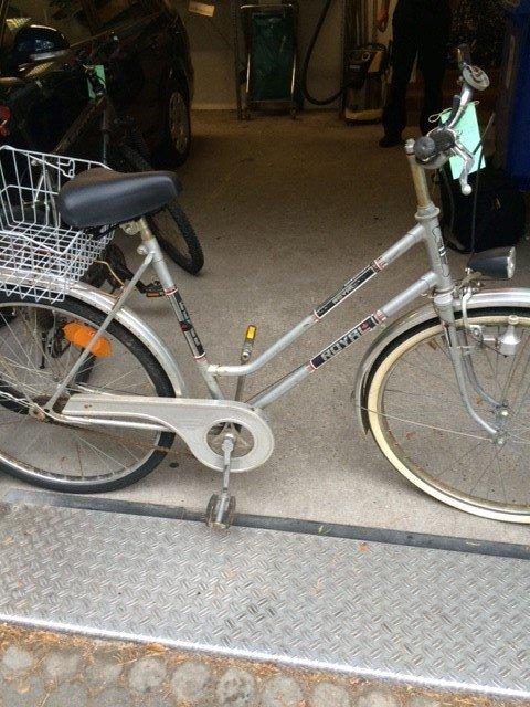 Wem gehört dieses Fahrrad?