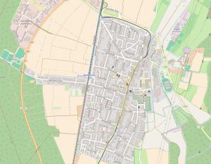 Karte Blankenloch