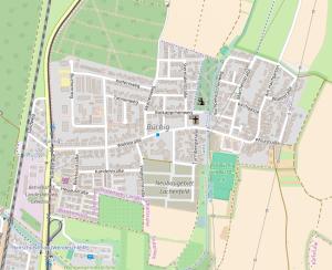 Karte Büchig