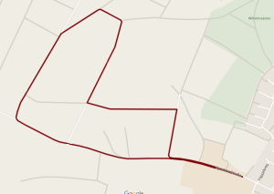 Strecke 1150 km-Lauf