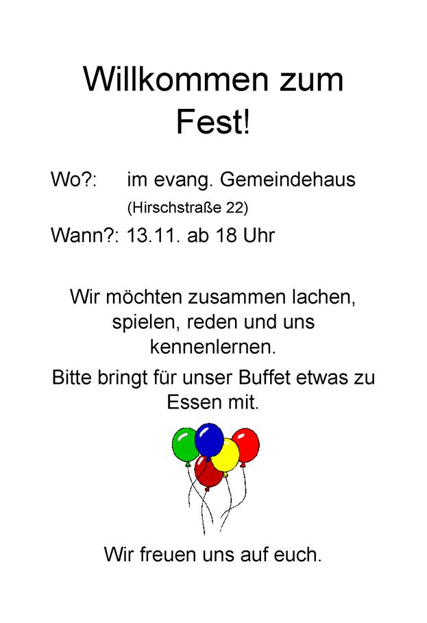 Flyer Asyl-Fest
