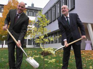 Patrick Krauth und Oberbürgermeister Klaus Demal