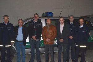 PD Roth, Wolf-Dieter Nagel, Carsten Erler, Harald Kleine Möllhoff, Jürgen Kleinhans, EPHK Batschauer, PR Fiedler