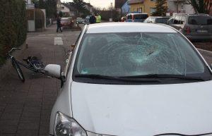 90-jähriger tödlich verletzt bei Fahrradunfall in Staffort