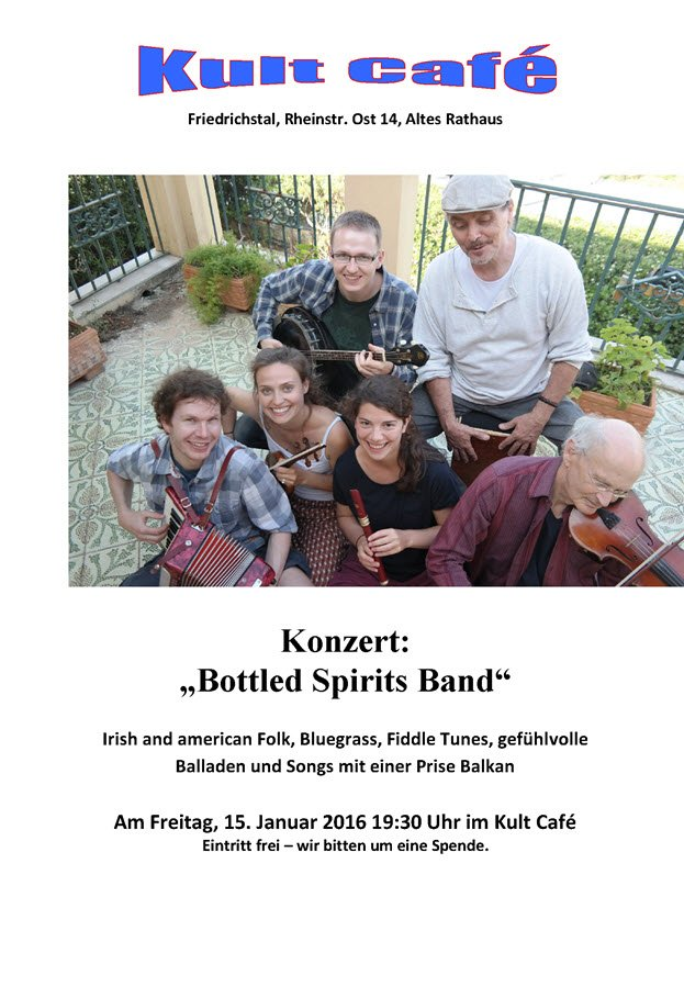 Bottled Spirits Band