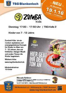 Zumba Kids Flyer