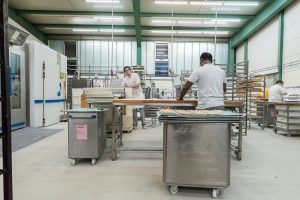 Die Produktionshalle